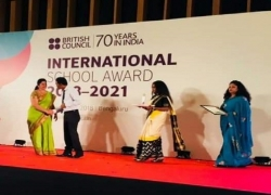 British Council's International School Award 2018