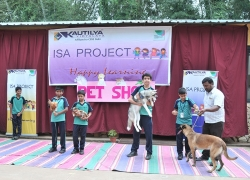 Pet Show conducted as part of International School Award project